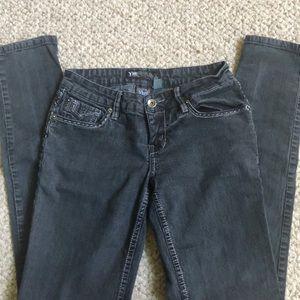 YMI Off-Black Skinny Jeans